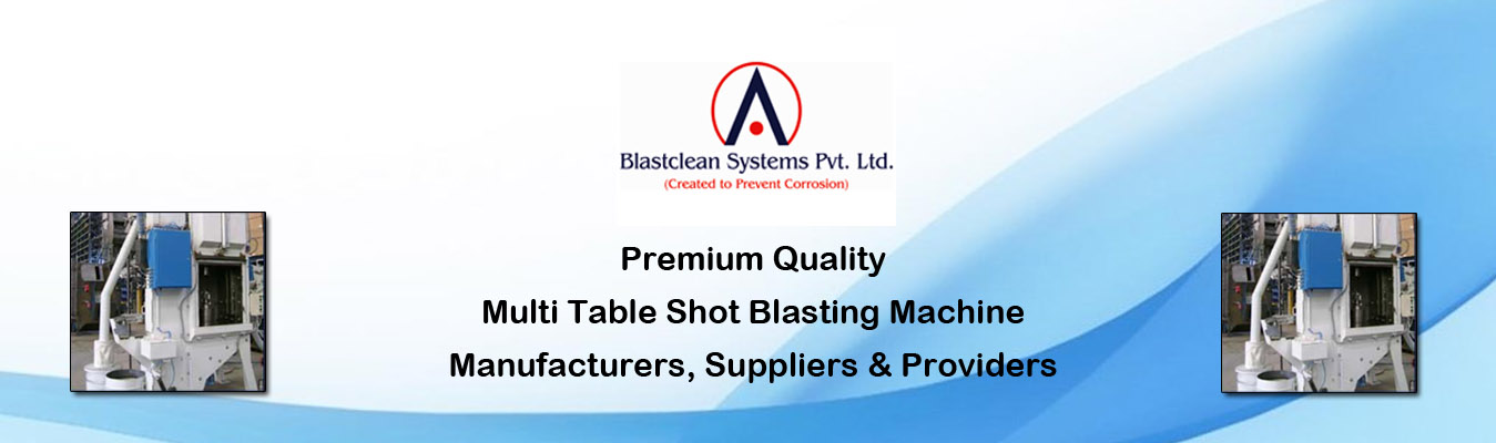 Multi Table Shot Blasting Machine