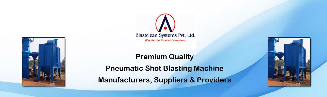 Pneumatic Shot Blasting Machine