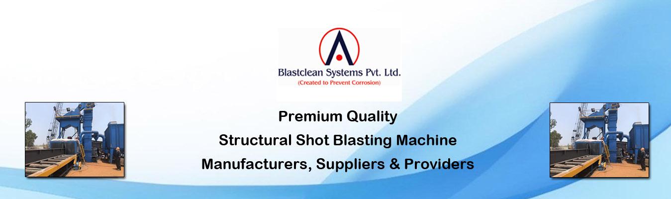 Structural Shot Blasting Machine